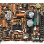 DENON (デノン) DP-6000 サーボ回路基板 部品面 オーバーホール前