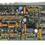 DENON (デノン) DP-6000 クオーツロック回路基板 部品面 オーバーホール前