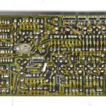 DENON (デノン) DP-6000 クオーツロック回路基板 半田面 オーバーホール前