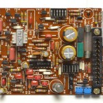 DENON (デノン) DP-6000 サーボ回路基板 部品面 オーバーホール後