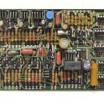 DENON (デノン) DP-6000 クオーツロック回路基板 部品面 オーバーホール後