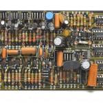 DENON (デノン) DP-6000 位相サーボ回路基板 部品面 オーバーホール前