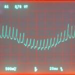 Technics (テクニクス) SP-10mk3 モーター駆動波形 オーバーホール前 33rpm