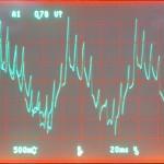 Technics (テクニクス) SP-10mk3 モーター駆動波形 オーバーホール前 78rpm