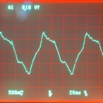 Technics (テクニクス) SP-10mk3 モーター駆動波形 オーバーホール後 78rpm