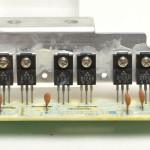 Technics (テクニクス) SP-10mk2A ドライブトランジスタ回路基板 部品面 オーバーホール前