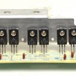 Technics (テクニクス) SP-10mk2A ドライブトランジスタ回路基板 部品面 オーバーホール後