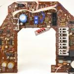 DENON (デノン) DP-60M メイン回路基板 部品面 オーバーホール後