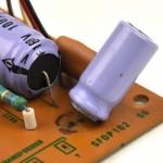 Technics (テクニクス) SP-10mk2 断線した電解コンデンサ