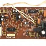 DENON (デノン) DP-80 サーボコントロール回路基板 部品面 メンテナンス前