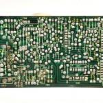 DENON (デノン) DP-80 サーボコントロール回路基板 半田面 メンテナンス前