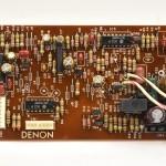 DENON (デノン) DP-80 サーボコントロール回路基板 部品面 メンテナンス後