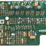 Technics (テクニクス) SP-10mk2 駆動回路基板 部品面 メンテナンス前