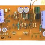 Technics (テクニクス) SP-10mk2 電源回路基板 部品面 メンテナンス前