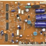 Technics (テクニクス) SP-10mk3 電源・オペレーション回路基板 部品面  メンテナンス前