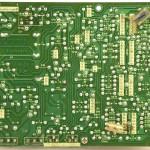 Technics (テクニクス) SP-10mk3 電源・オペレーション回路基板 半田面  メンテナンス前