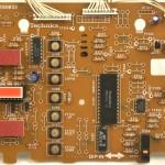 Technics (テクニクス) SP-10mk3 オペレーション回路基板 部品面  メンテナンス前