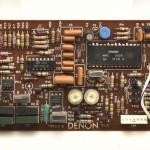 DENON (デノン) DP80 サーボコントロール回路基板 部品面 オーバーホール前