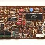 DENON (デノン) DP80 サーボコントロール回路基板 部品面 オーバーホール後