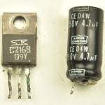 DENON (デノン) DP80 劣化した部品