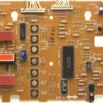 Technics (テクニクス) SP-10mk3 オペレーション回路基板 部品面 オーバーホール前