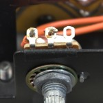 LUXMAN (ラックスマン) PD121 速度調整可変抵抗器への配線