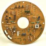 LUXMAN (ラックスマン) PD121 モーター駆動回路基板 部品面 オーバーホール前