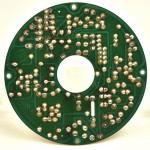 LUXMAN (ラックスマン) PD121 モーター駆動回路基板 半田面 オーバーホール前