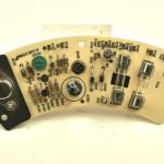 LUXMAN (ラックスマン) PD121 電源回路基板 部品面 オーバーホール前