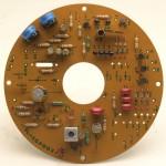 LUXMAN (ラックスマン) PD121 モーター駆動回路基板 部品面 オーバーホール後