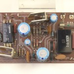 YAMAHA (ヤマハ)YP-1000mk2 電源回路基板 部品面 オーバーホール前