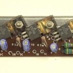 YAMAHA (ヤマハ)YP-1000mk2 パワートランジスタ回路基板 部品面 オーバーホール前