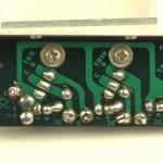 YAMAHA (ヤマハ)YP-1000mk2 パワートランジスタ回路基板 半田面 オーバーホール前
