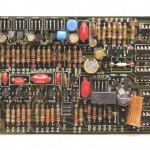 DENON (デノン) DP-6000 位相ロックアンプ回路基板 部品面  オーバーホール後