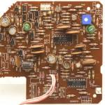 DENON (デノン) DP-60L アームサーボ回路基板 部品面 オーバーホール後