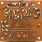 Technics (テクニクス) SP-10 電源回路基板 半田面 オーバーホール後