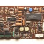 DENON (デノン) DP-80 位相ロック回路基板 部品面 オーバーホール前