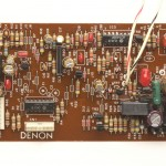 DENON (デノン) DP-80 サーボコントロール駆動回路基板 部品面 オーバーホール後