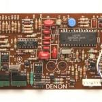 DENON (デノン) DP-80 位相ロック駆動回路基板 部品面 オーバーホール後