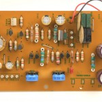 Technics (テクニクス) SP-10mk2 電源回路基板 部品面 オーバーホール後
