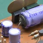 Technics (テクニクス) SP-10mk2 制御用整流回路の電解コンデンサ