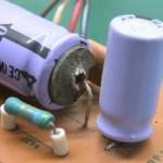 Technics (テクニクス) SP-10mk2 ストロボ用整流回路の電解コンデンサ