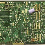 Technics (テクニクス)SP-10mk3 電源・オペレーション回路基板 半田面 メンテナンス前