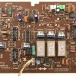 Technics (テクニクス)SP-10mk3 コントロール回路基板 部品面 メンテナンス前