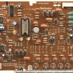 Technics (テクニクス)SP-10mk3 ドライブ回路基板 部品面 メンテナンス前
