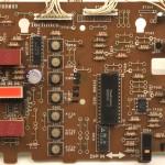 Technics (テクニクス)SP-10mk3 オペレーション回路基板 部品面 メンテナンス前