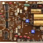 Technics (テクニクス)SP-10mk3 電源・オペレーション回路基板 部品面 メンテナンス後