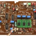 Technics (テクニクス)SP-10mk3 コントロール回路基板 部品面 メンテナンス後
