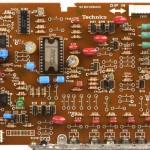 Technics (テクニクス)SP-10mk3 ドライブ回路基板 部品面 メンテナンス後