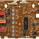 Technics (テクニクス)SP-10mk3 オペレーション回路基板 部品面 メンテナンス後